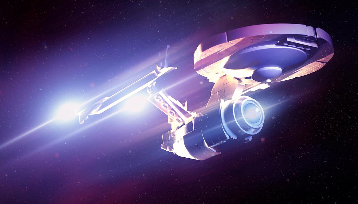 My USS Enterprise A Featured in Hungarian Online News Platform!