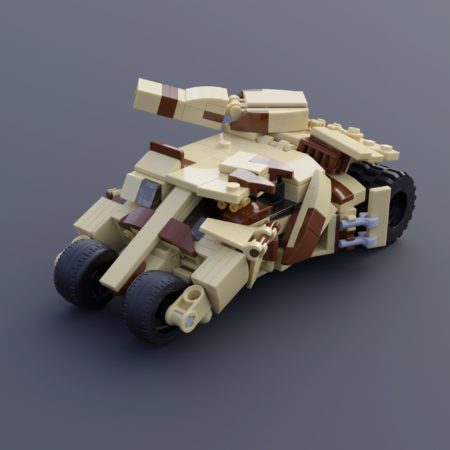 The Tumbler (camo with a turret)