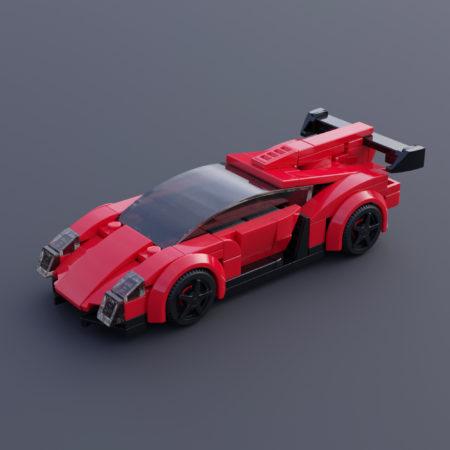 Lamborghini Veneno (Red)