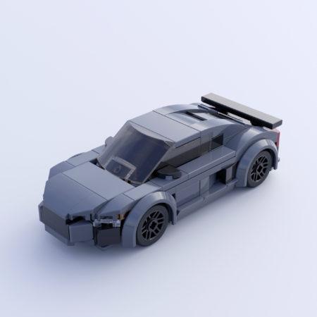 Audi R8 Coupé (Gray)