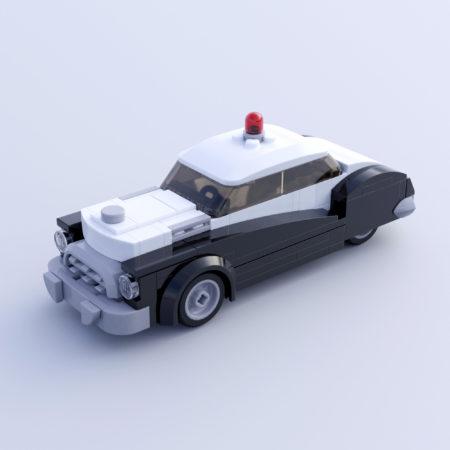 1950's Vintage Police Car