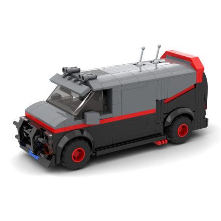 Mr. T's GMC Vandura Van (The A-Team)